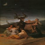 Francisco de Goya (1746-1828)  Witches Sabbath  Oil on canvas, 1798  Museo Lazaro, Madrid, Spain